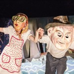 Connie & Madeline Lynch, from the 2012 Esopus Creek Puppet Suite
