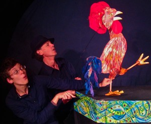 El Gallo / The Rooster from Crisscrossing Borders, photo by Bart Friedman