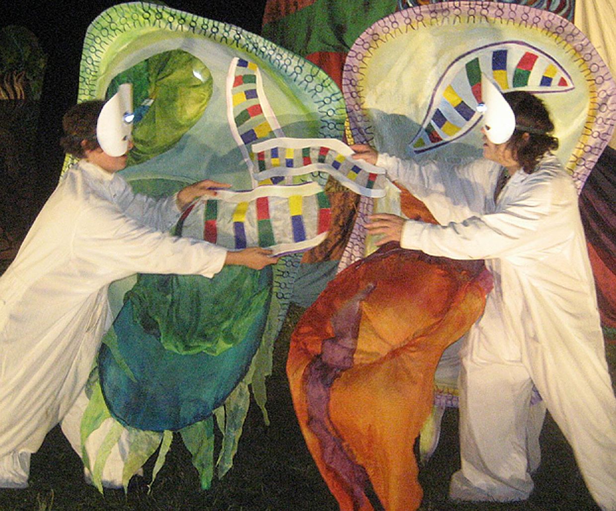DNA Exchange from the 2007 Puppet Suite, photo by Fionn Reilly
