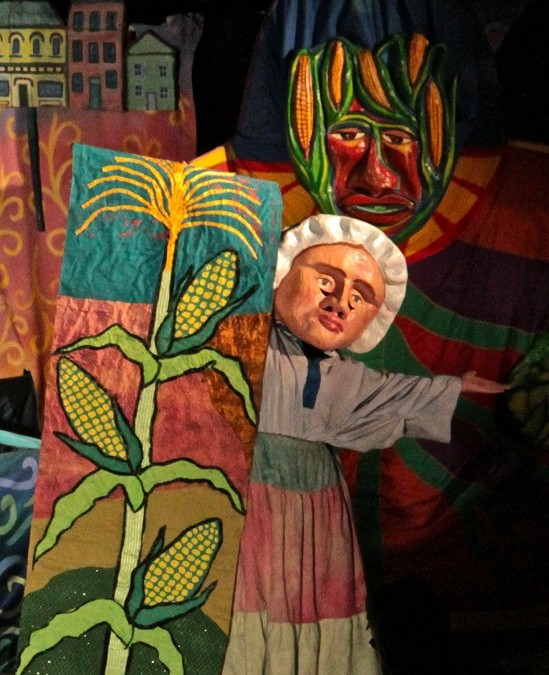 """2013 Esopus Creek Puppet Suite – """"A Bend in the Crick of Time"""""""