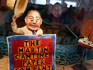 The Martin Cantine Paper Mill!